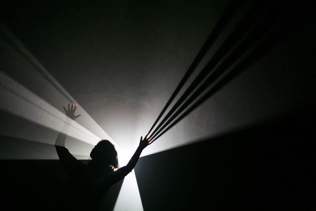 Anthony McCall Laboral Esculturas de luz