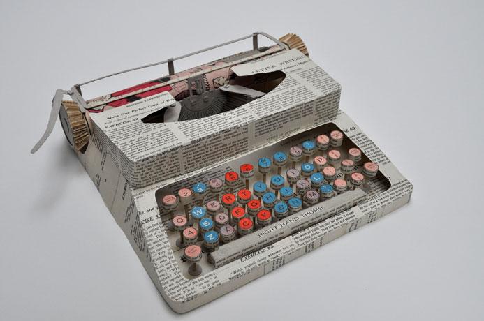esculturas papel Jennifer Collier escaparatismo visual merchandising vishopmag