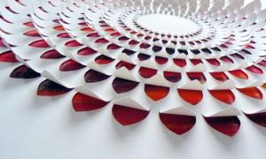 lisa rodden esculturas papel arte vishopmag