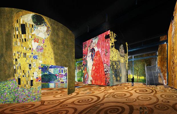vishopmag-revista-escaparates-escaparatismo-visualmerchandising-retaildesign-escaparates-klimt-atelier-des-lumieres-002