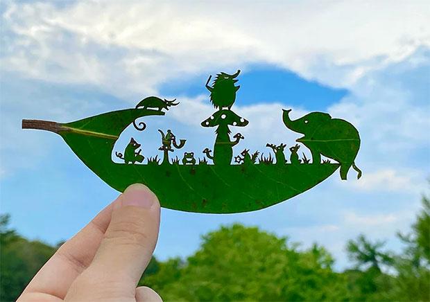 vishopmag-magazine-revista-visualmerchandising-arte-hojas-naturaleza-lito-leaf-art-1